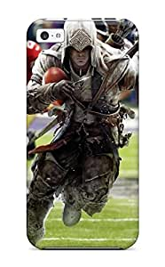 Ernie Durante Jackson's Shop New Style 4610635K49854527 Faddish Phone Assassin's Creed 4 Super Bowl Case For Iphone 5c / Perfect Case Cover