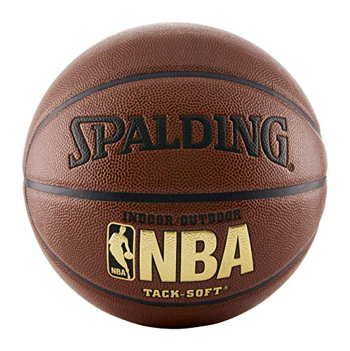 Spalding NBA Tack Soft Indoor-Outdoor Basketball