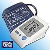 RMS BP-102ARM Approved Digital Automatic Arm Blood Pressure Monitor and Heart Rate Monitor with