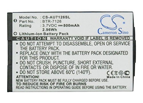 - Cameron Sino 800mAh/2.96Wh Li-ion High-Capacity Replacement Batteries for MetroPCS CDM-7126, UTStarcom CDM-7126 , fits Audiovox BTR-7126