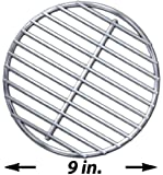 Stainless High Heat Charcoal Fire Grate Upgrade for Large and MiniMax Big Green Egg Grill