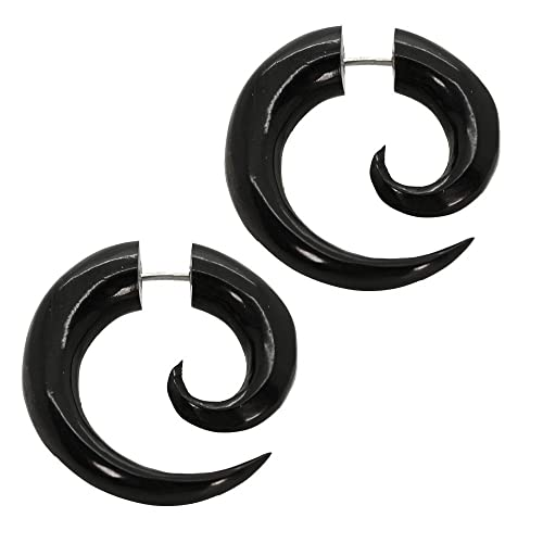 2 Finto Espirales Estensor falso piercing oreja fakeplug ...