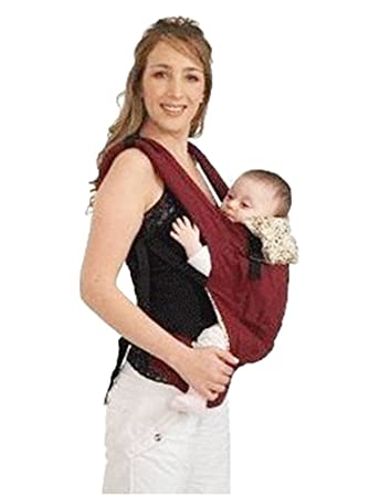 Amazon Com Cotton Baby Carrier Sling Cover Soft Structured Hood