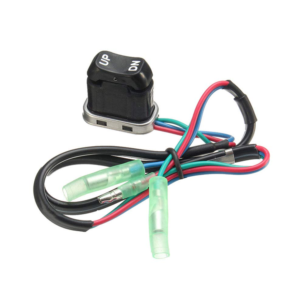 VideoPUP Trim & Tilt Switch Assembly Outboard Remote Controller Replacement 703-82563-02-00 compatible for Yamaha