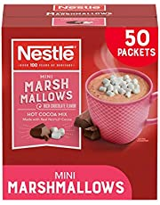 Nestle Hot Chocolate Packets, Hot Cocoa Mix, Rich Chocolate Flavor with Mini Marshmallows