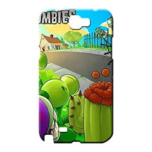samsung note 2 Excellent Durable stylish mobile phone case plants vs zombies