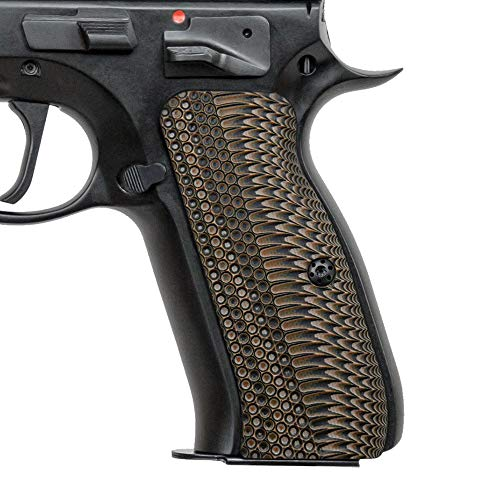Cool Hand G10 Grips for CZ 75 Full Size, OPS Texture, Coyote Color, Brand
