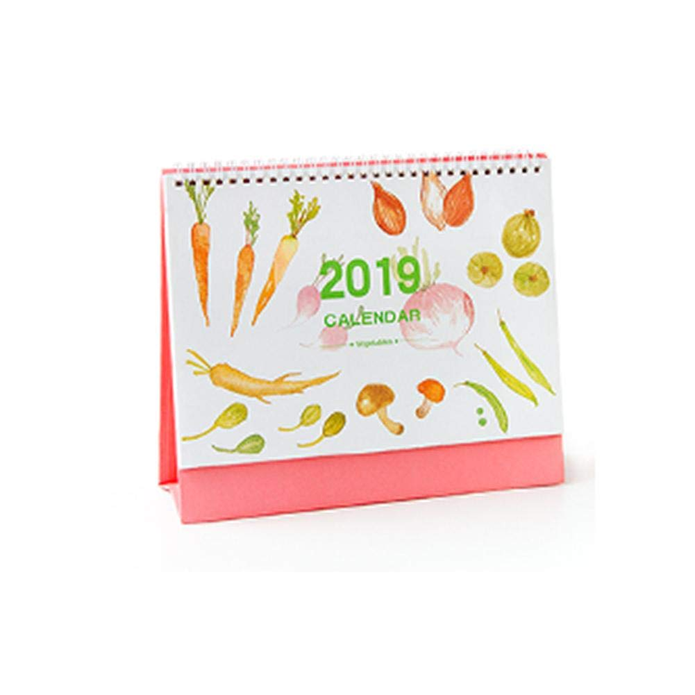 Eternitry Calendario de Escritorio 2019 Tabla Impresa con ...