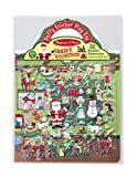 Melissa & Doug Puffy Sticker Activity Book: Santa's Workshop - 52 Reusable Stickers