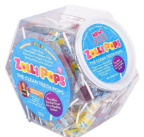 150ct ZOLLIPOPS VARIETY JAR, Case of 1 ()