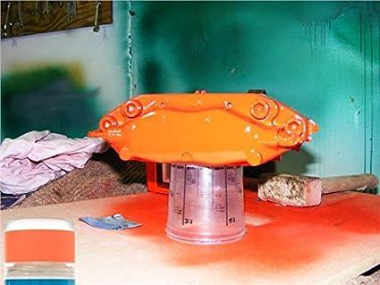 Bicicleta fluorescente naranja spray de pintura 400 ml LATA DE ...
