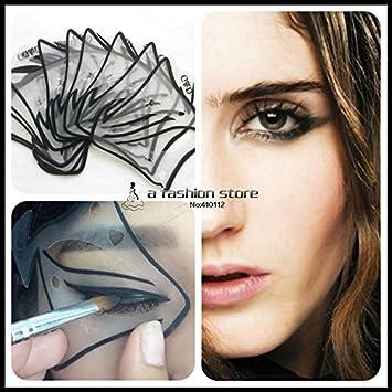 Amazon.com : Winged Eyeliner Stencil Eyeliner Stencil - 7 style in 1 ...