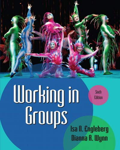 Working in Groups (6th Edition) by Pearson