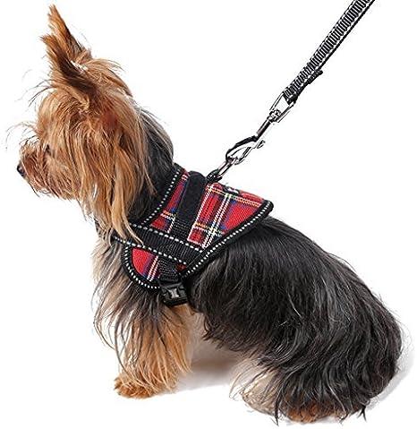 DealMux Reflectante Cachorro de Perro del Correo del arnés ...