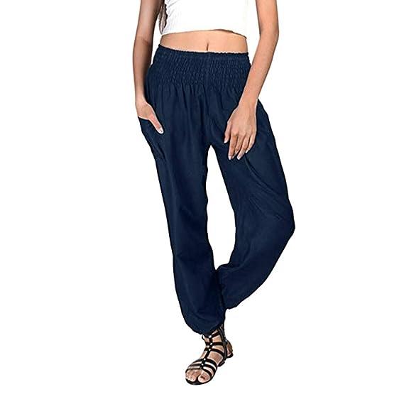 Anchos Para MujerPantalón Pantalones Deporte Deportivos Baggy jS5ARL3qc4