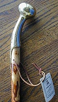 Whistle Creek 37 Sassafras Country Cane with Brass Handle