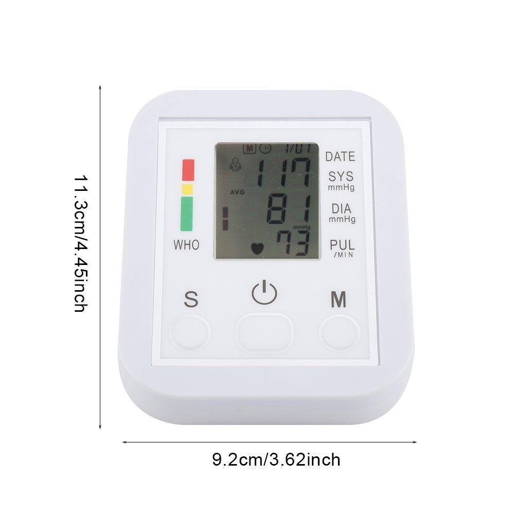 Haofy Tensiómetro de Muñeca Digital Monitor de Presión Arterial con Pantalla LCD: Amazon.es: Salud y cuidado personal