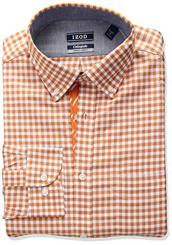Izod Button Down Dress Shirt - 9