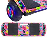 NHT Latest Generation Electric Hoverboard Build-in Bluetooth Speaker Electric Self Balancing Scooter Hover Board with LED Lights Safety Certified (Image 4)