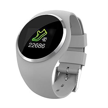 SMSTG Fashion Smart Watch HR Blood Pressure Monitor Women ...