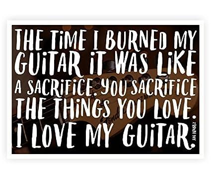 Amazon Com Lab No 4 The Time I Burned My Guitar Jimi Hendrix Music