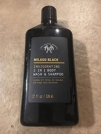 Amazoncom Tri Coastal Design Milagu Black 2 In 1 Wash And Shampoo