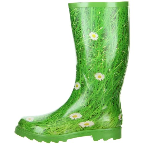 Green Green Gänseblümchen Green Womens ConWay Boots Rubber UZnwYfq