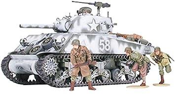 Tamiya M4 A3 Sherman 105mm, Howitzer - Maqueta de ...
