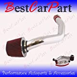 99 00 01 02 03 04 05 Vw Golf Jetta Gti 1.8t 2.0 Cold Air Intake Red (Included Air Filter) #Cai-vw001r