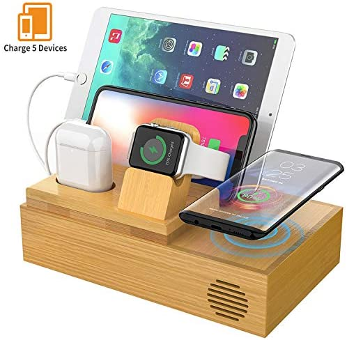 CHGeek Charger Charging Station Multiple Devices Wireless Charging Pad Compatible product image