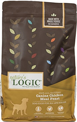 Nature's Logic Chicken Dry Dog Food, 4.4-Pound Bag