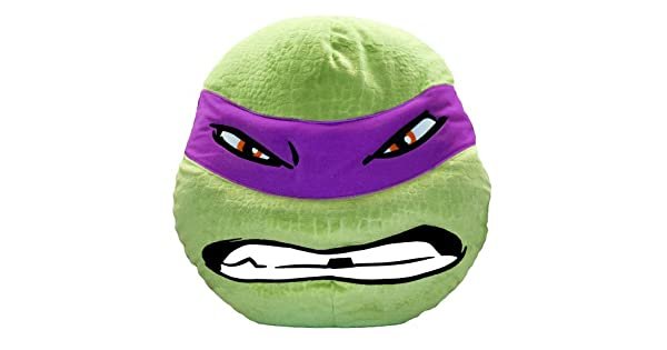 Amazon.com: TMNT: Donatello felpa almohada: Home & Kitchen
