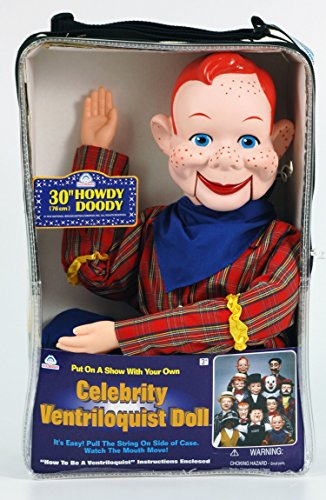 Howdy Doody Ventriloquist Doll by Goldberger Doll Mfg. Co.