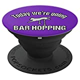 Agility Dog Bar Hopping Purple - PopSockets Grip and Stand for Phones and Tablets
