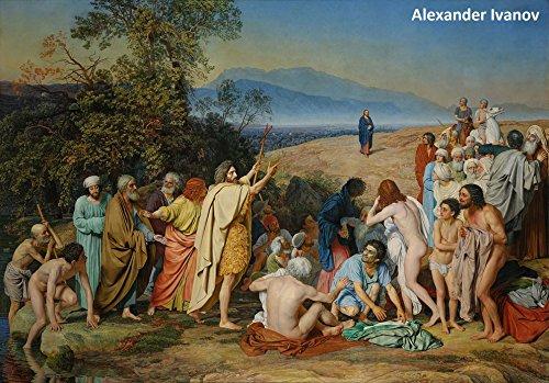 87 Color Paintings of Alexander Ivanov - Russian Academic Painter (July 28, 1806 - July 15, 1858) por Jacek Michalak,Alexander Ivanov