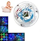 Ecoolbuy Colorful Bathroom LED Light Toys Kids Funny Bathing Toys Waterproof in Tub