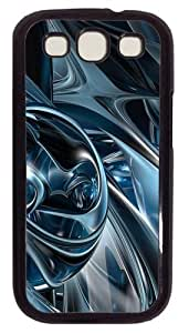 3D Abstract Hd PC Case Cover For Samsung Galaxy S3 SIII I9300 Black