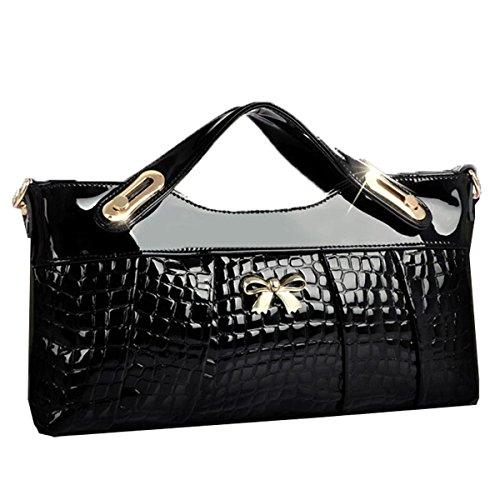 Zeagoo Lady Vintage Fashion Synthetic Leather Satchel Bag Handbag Retro Messenger Bag