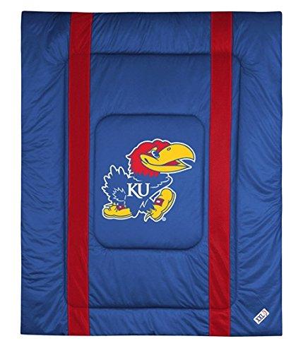 University of Kansas Jersey Stripe Comforter (Twin)