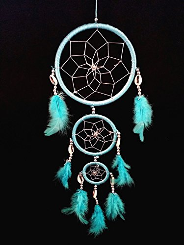 Handmade Dream Catcher with Feather Wall Hanging Decoration Ornament-3LB(with Betterdecor Gift Bag)