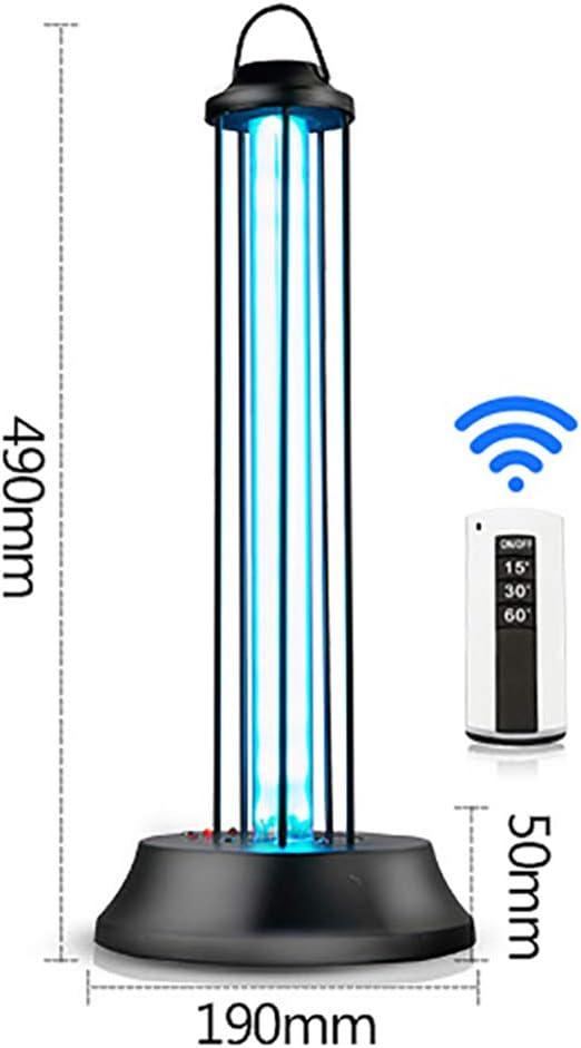 Blingbin Luz Germicida UV Esterilizador UV de Ozono L/ámpara de Desinfecci/ón Luz de Desinfecci/ón Tubo de Vidrio de Cuarzo Con Soporte de Aleaci/ón de Aluminio 8w // 6w