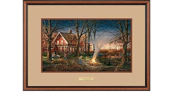 Autumn Evening Encore Print by Terry Redlin