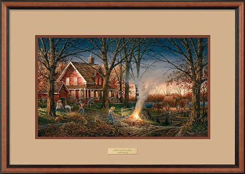 (Autumn Evening Framed Encore Print by Terry Redlin)