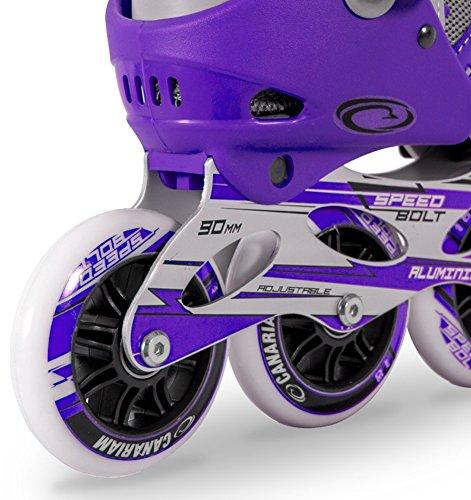 Men´s Bolt Inline Skates Roller Canariam aggressive Speed q54Aj3RL