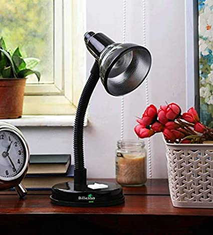 BillieJean 888 Table Lamp For Reading, Studying & Night Lamp(Matte Black) Desk Lights at amazon