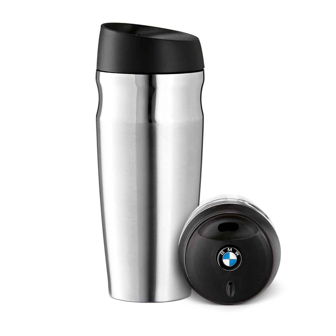 BMW Thermo Mug - Silver 15oz