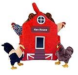 "ADORE 12"" Hen House Chicken Coop Plush Stuffed Animal Playset"