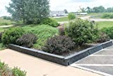 Forte Products 8001658 Resin Border Timber Rail