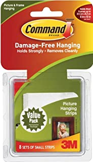 Command Medium Picture-Hanging Strips, White, 6-Strip - Utility ...