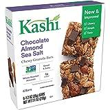 Kashi Chewy Granola Bar, Chocolate Almond Sea Salt with Chia (6 X 1.2 Ounce), 8 Count